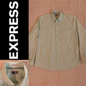 Express mint green dress shirt